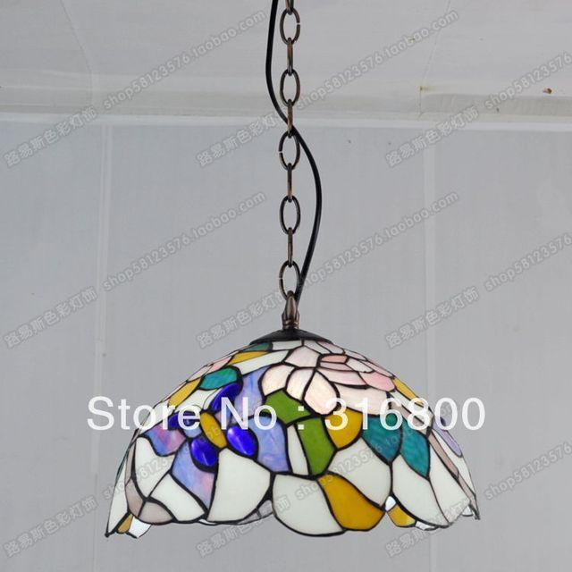 12 Zoll Kristall Schmetterling Restaurant Balkon Küche Beleuchtung  Kronleuchter Tiffany Glas Strass Einzigen Kopf Lampen