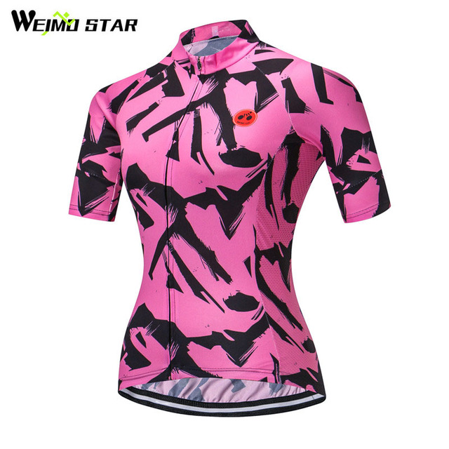 2d75a606a Weimostar 2018 pro team Women Cycling Jersey Short Sleeve Racing Bicycle  Cycling Clothing Maillot Ciclismo Road mtb Bike Jersey