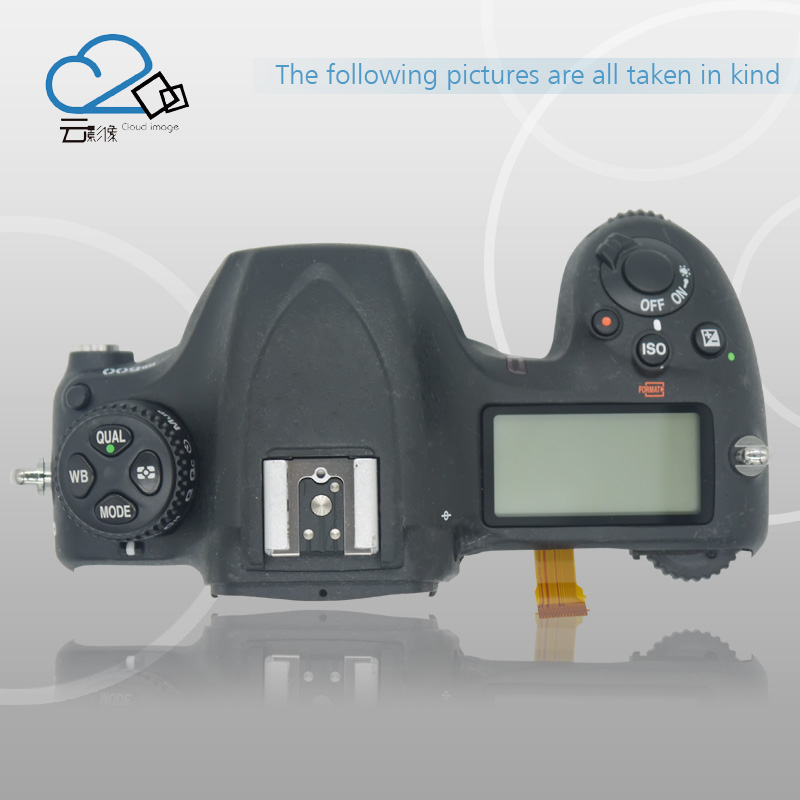 Free shipping!Test OK!D500 top Cover for Nikon D500 with top LCD and top flex cable,D500 Camera Replacement Unit Repair Parts top cover top case with flash board top lcd fpc unit for nikon d610 slr camera repair replacement part