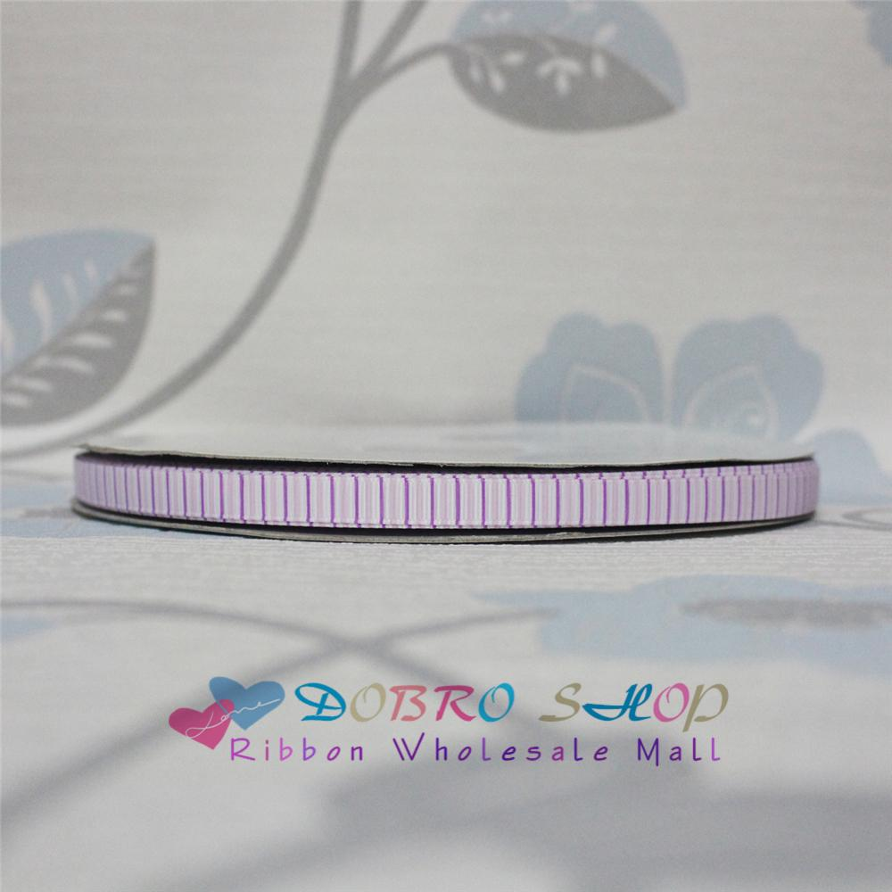 Big Sale 3/8 9mm Purple Pink Vertical Stripes Printed Grosgrain Ribbon for Hair Bow,Party Decorations,Gift Packaging,100 Yards
