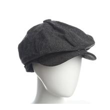 305beff4ec8 Newsboy Caps Herringbone fringes Flat Caps Hats for women Men hats Warm  Winter Octagonal Hat Male