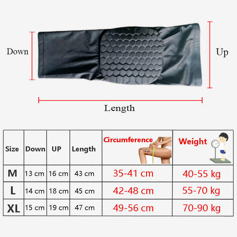 247197dba4 ... Basketball Sports Safety Knee Support Football Volleyball kneepad long  Breathable roller skating popular brands knee warm