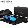 KINGSEVEN Original Sunglasses Women Men Brand Design TR90 Frame Sun Glasses For Men Fashion Classic UV400 Square Eyewear S730