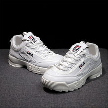 bac3ee8b010 2019 novos Sneakers Mulheres sapatos filas Disruptor 2 Ginásio calçado  plataforma de Amortecimento tênis de Corrida