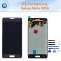 """AAA 4.7 """"mejor lcd de reemplazo para samsung galaxy alpha g850 g850f pantalla lcd táctil digitalizador asamblea de cristal kit de herramientas"""