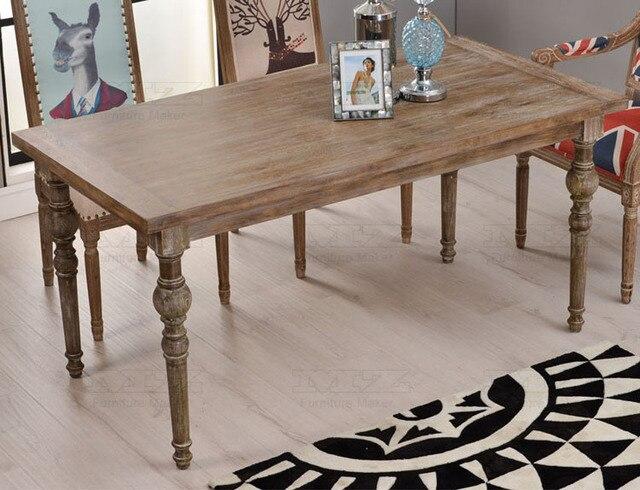 De estilo neoclásico europeo de época antigua de madera mesas y ...
