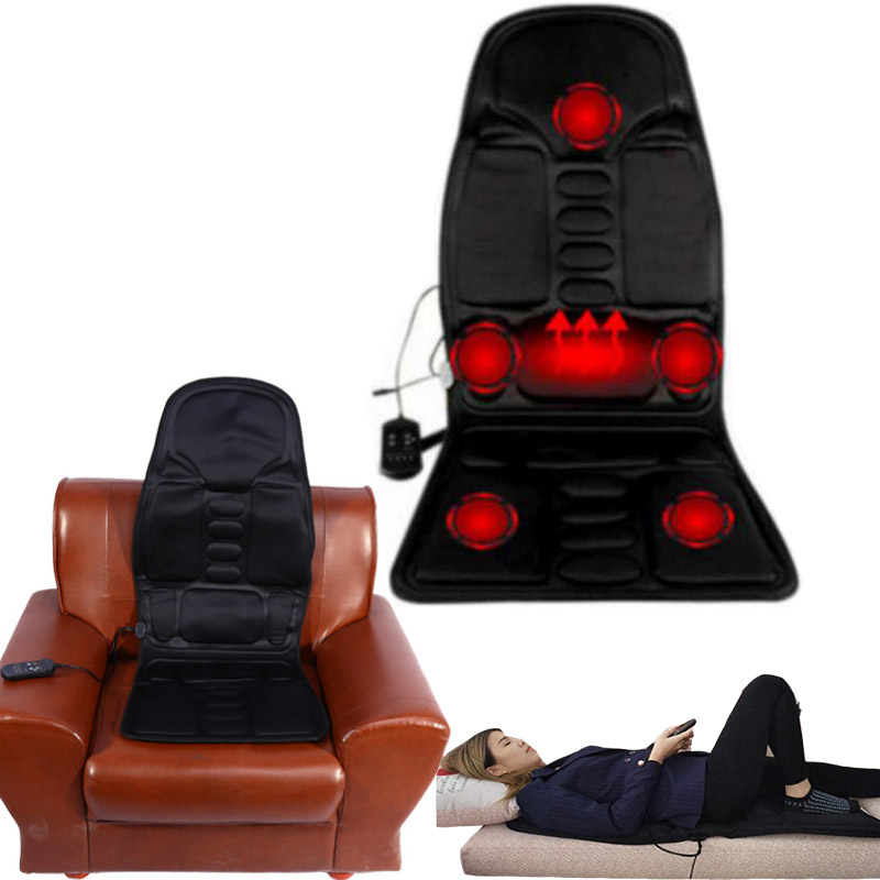 electric Neck Massager Back Chairs Massage Chair cushion Seat Vibrator massagem Cushion heated Pad For leg Waist Body Massagerelectric Neck Massager Back Chairs Massage Chair cushion Seat Vibrator massagem Cushion heated Pad For leg Waist Body Massager