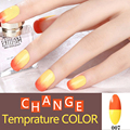 Цветовая Гамма 1 53 цветов Изменение Температуры Цвет ногтей гель лак для УФ-Гель Лак Для Ногтей Длительный Soak Off Ногтей Гелем лак