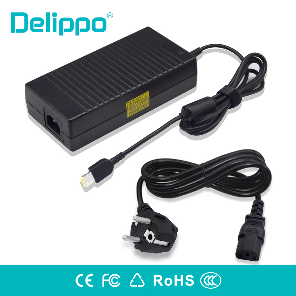 Delippo 20V 8 5A 170W Ac adapter charger for Lenovo ThinkPad W540 W550s W520 W530 ThinkPadE440