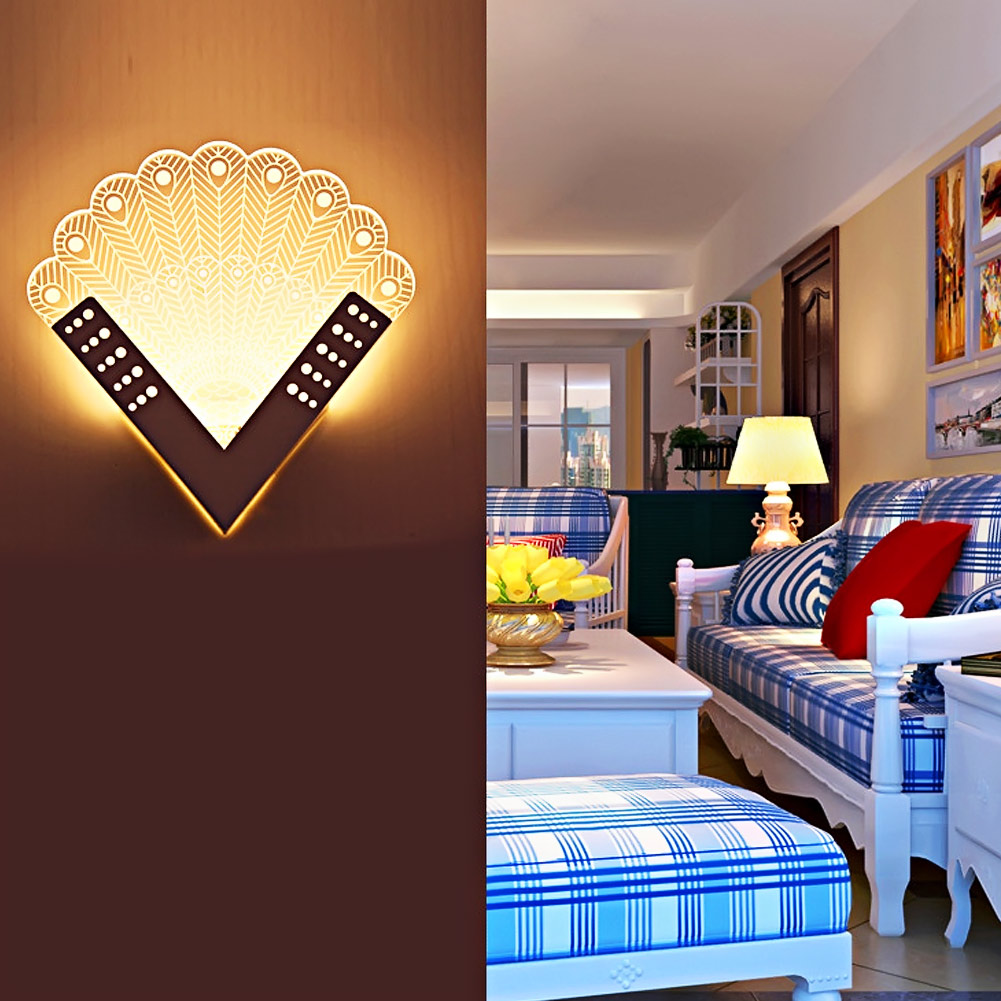 Led Bedroom Lights Decoration Online Get Cheap Decorative Wall Lights Aliexpresscom Alibaba