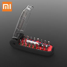 Xiaomi Wiha Screwdriver Set 17 In 1 High Precision Magnetic Crocodile Mouth Shape Mini Screw Driver Bit Set Smart Home DIY Tool(China)