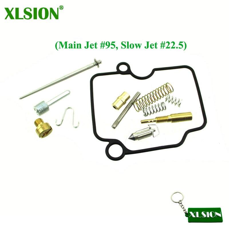 Xlsion carburador reconstruir kit de reparo apto 26mm mikuni vm22 carb pit bicicleta sujeira