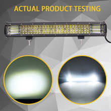 HELLO EOVO LED Bar 4 / 7 / 12 / 20 / 22 / 28 / 36 inch LED Light Bar Driving Offroad Boat Car Tractor Truck 4×4 SUV ATV 12V 24V