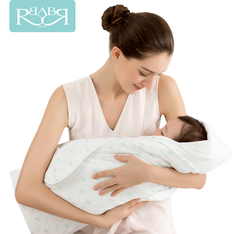 100% Cotton Baby Swaddle Wrap Blanket For Newborn Receiving Fleece Blanket Neonatal Sleeping Bag Sofa Cover The Envelope цена