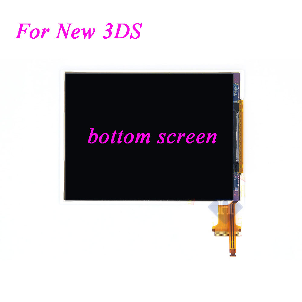 все цены на  1pcs - 10pcs Replacement Bottom Display For Nintendo New 3DS Lower LCD Screen down screen  онлайн