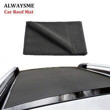 ALWAYSME, черный, 100x90 см, подходит для всех автомобилей, внедорожников, противоскользящий грузовой коврик, подушка, обивка, складной коврик, ручка для автомобиля, верхний багажник, автомобильная сумка на крышу