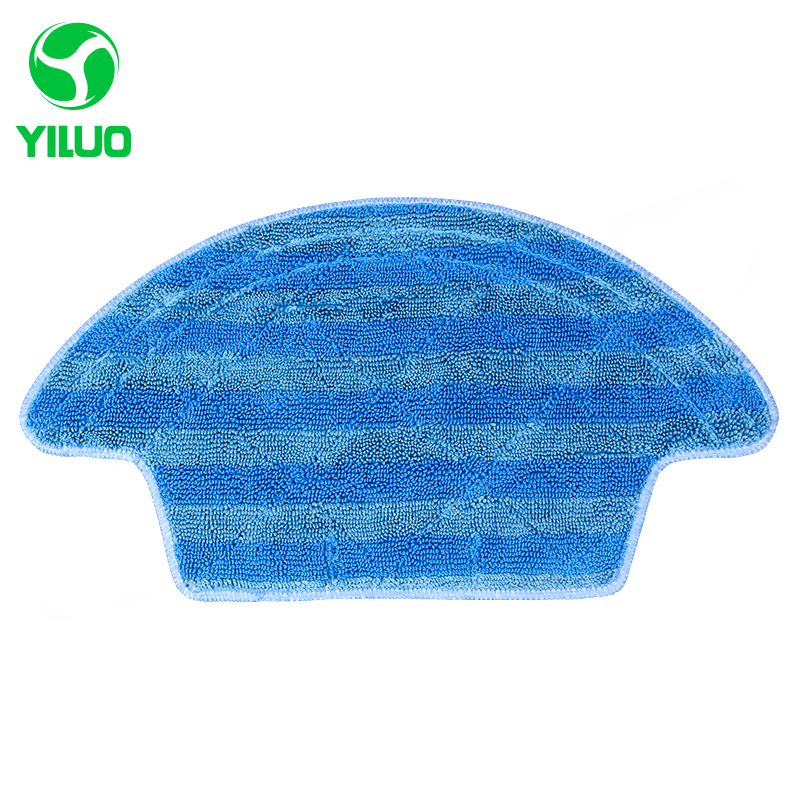 High Efficient Washable Microfiber Cleaning Cloth to Clean Floor for CEN540 CEN546 Robot Vacuum Cleaner Parts for Home 5 pieces lot microfiber mop cloth washable for home cleaning for cen540 cen540 mi cen546 robot vacuum cleaner