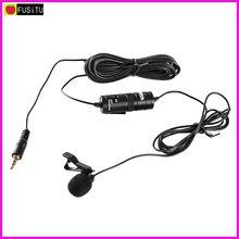 """BOYA BY-M1 3.5 мм электретный петличный клип конденсаторный микрофон поставляются с 1/4 """"адаптер для смартфонов, DSLR, аудио рекордеры, ПК"""