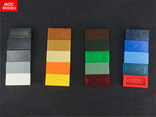 200 יח\חבילה MOC לבני חברים צבעוני אריחי 1x2 fit עם 3069 DIY חינוכי אבני בניין פעולה איור ילדים מתנות