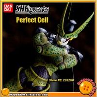 DRAGONBALL Dragon Ball Z/Kai Оригинальные BANDAI Tamashii Наций S. h. figuarts/СВЧ эксклюзивные Фигурки игрушки Perfect ячейки