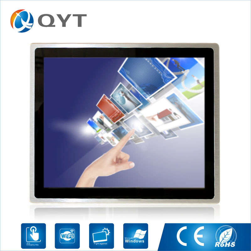 """Embedded panel pc intel core i3 3217U 19"""" industrial compouter Capacitive touch screen pc Resolution1280x1024 4GB DDR3 32G SSD-in Industrial Computer & Accessories from Computer & Office"""