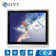 組み込みパネル pc intel core i3 3217U 19 「産業 compouter 容量性タッチスクリーン pc Resolution1280x1024 4 ギガバイト DDR3 32 グラム SSD