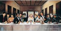 Custom paintings marilyn monroe last supper most famous art paintings High quality Hand painted