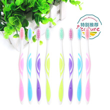 10pcs/pack Professional Toothbrush Tooth Brush Mouth Clean Care Hygiene Battery Operated Teeth Brush
