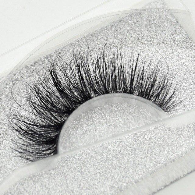 Visofree eyelashes 3D mink eyelashes long lasting mink lashes natural dramatic volume eyelashes extension false eyelashes D08 4