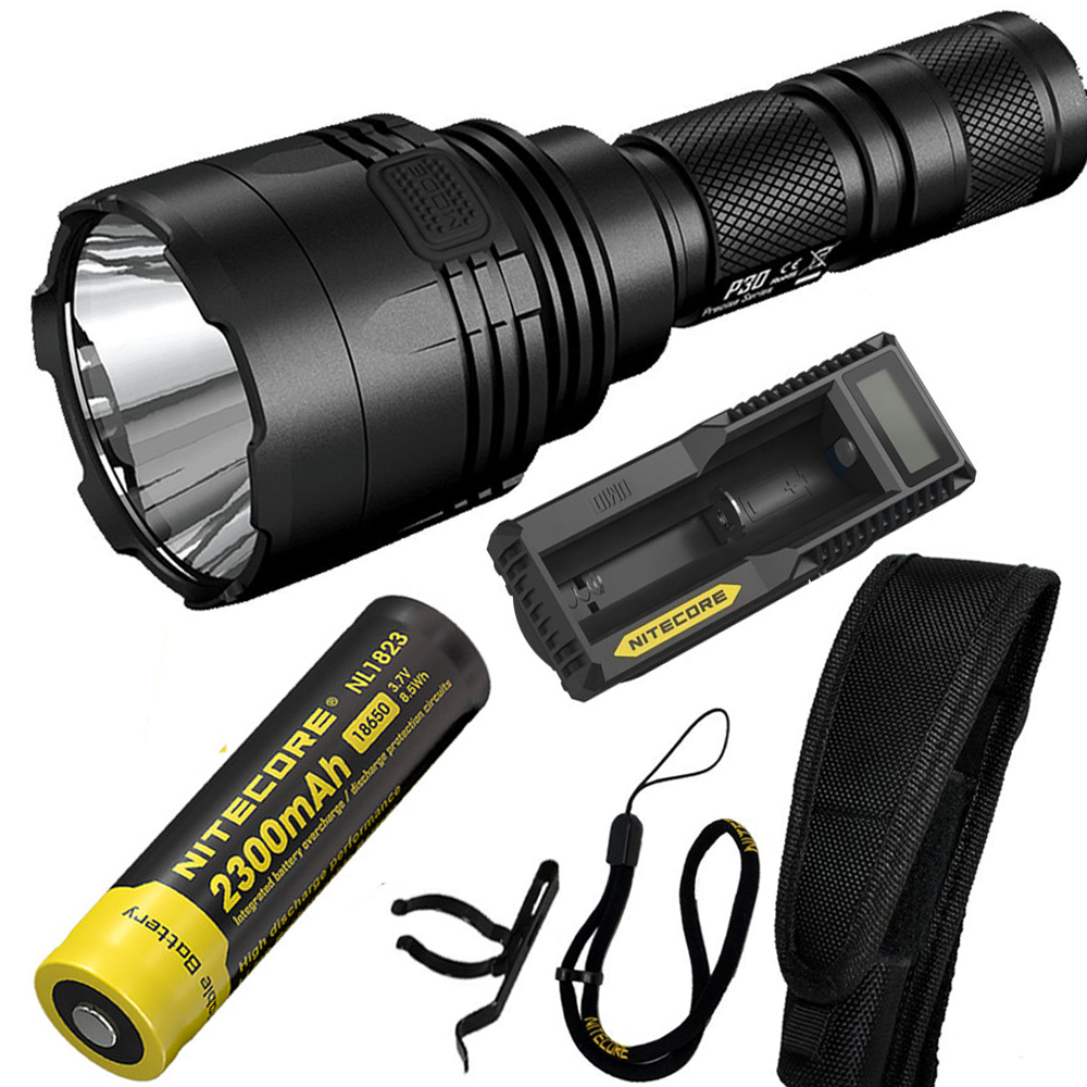 NITECORE P30 1000Lumen Long-range Tactical Flashlight Outdoor Hunting Waterproof Portabl ...