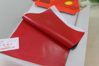 100pcs/pack 32K Double-sided Red Carbon Paper 18.5X12.7cm