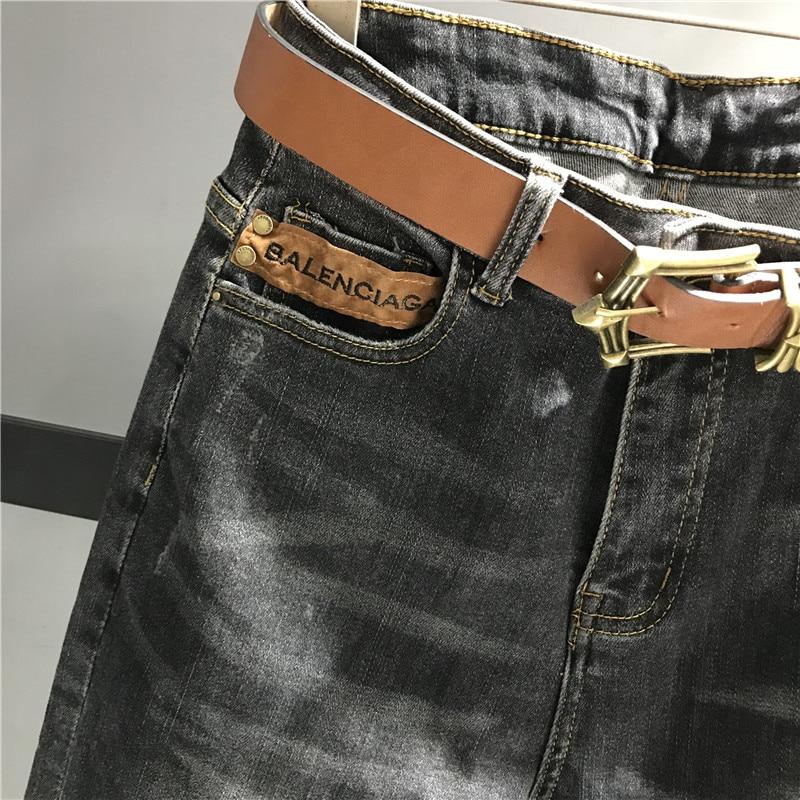 Casual Caliente Mujer Fit Negro Jeans Harem Venta Cintura K449 Dama Alta Slim Pantalones Denim De Para Mujeres fRqwwCS