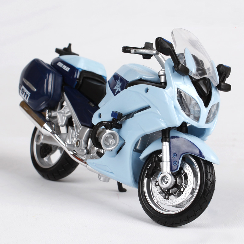 Maisto Motorcycle Models FJR1300A Patrol 1:18 scale metal diecast models motor bike miniature race Toy For Gift Collection