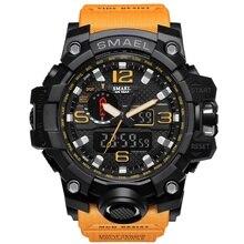 New Sport Digital Watch Men Quartz Led Dual Display Waterproof WristWatch Wrist Army Male Relogio Masculino Hodinky Fashion 36