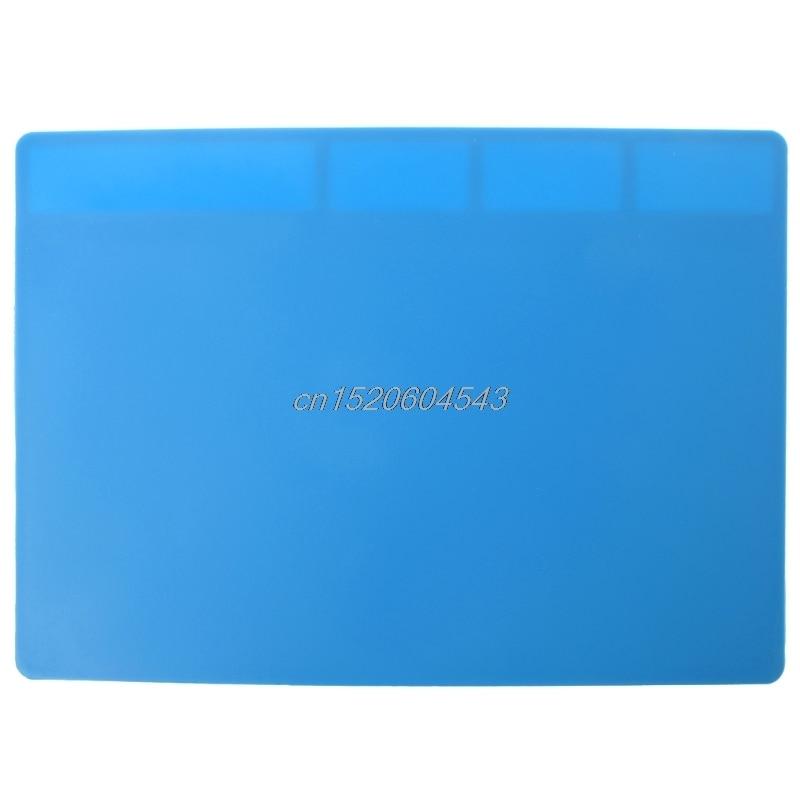 Wärmedämmung Silikon Löten Pad Reparatur Wartung Plattform Schreibtisch Matte 28x20 cm R09 Drop ship