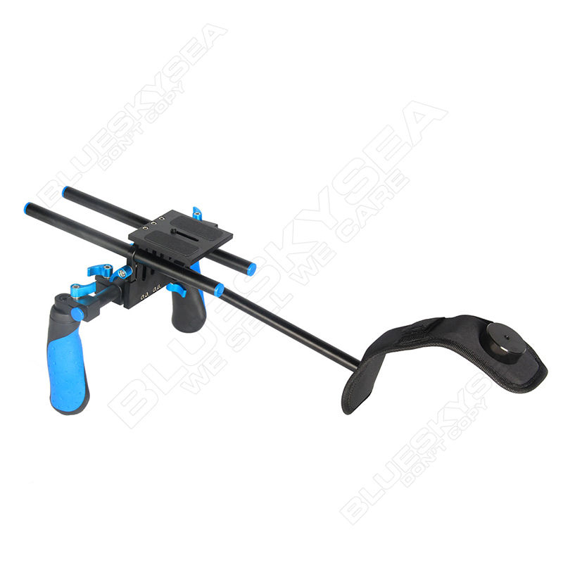 Free shipping!DSLR Shoulder Mount Stabilizer Steady Rig for Canon NIkon Camera Camcorder free shipping dslr shoulder mount stabilizer steady rig for canon nikon camera camcorder