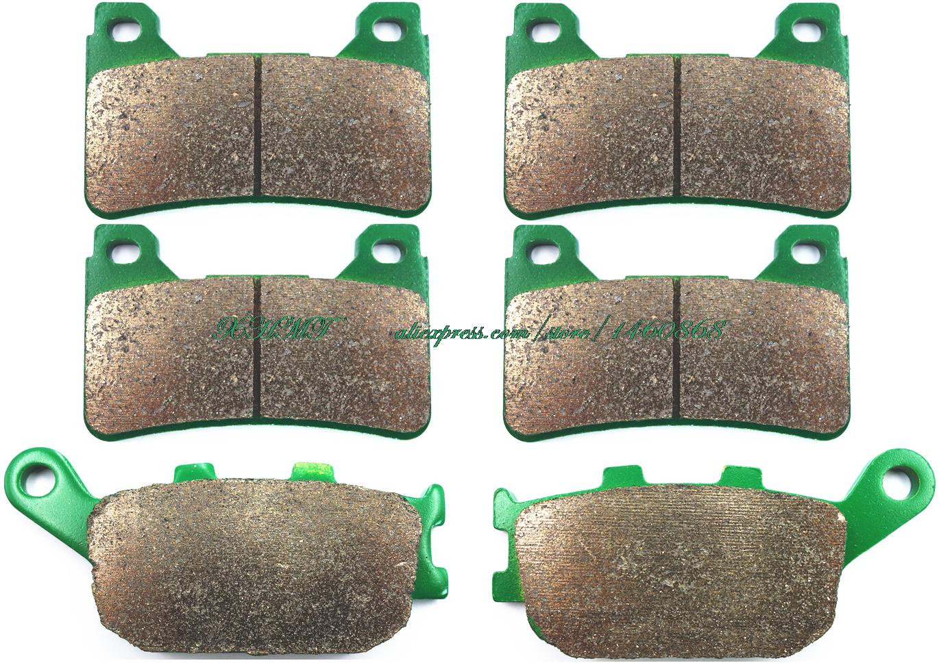 Brake Pads Set For Honda Cbr600rr Cbr 600 Rr & Racing Applications 2005 2006