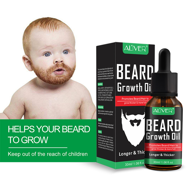 Natural Organic Beard Liquid Beard Growth Conditioner Grooming Moisturizing Moustache Care Men Beard Care Aftershave Water 4