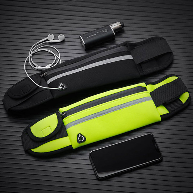 New Running Waist Bag Waterproof Phone Container Jogging Hiking Belt Belly Bag Women Gym Fitness Bag Lady Sport Accessories 1