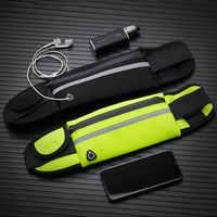 Nuevo bolso para correr a la cintura impermeable para teléfono, contenedor para correr, cinturón para senderismo, bolsa para el vientre, bolsa de gimnasio para mujer, accesorios deportivos para mujer