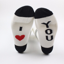 English letter socks Men women letters cotton in tube Sexy I Love You My BoyFriend Kiss Me