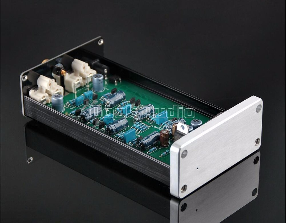 2017 Lastest Douk audio Pure Class A HiFi MC Phono Preamplifier LP Vinyl Record Player Turntable Pre-Amp Free Shipping