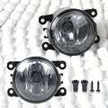 2pcs New Right  + Left Side Fog Light Lamp + H11 Bulbs 55W For Acura RDX TL Honda CR-V Ford Lincoln Jaguar Subaru Nissan Suzuki