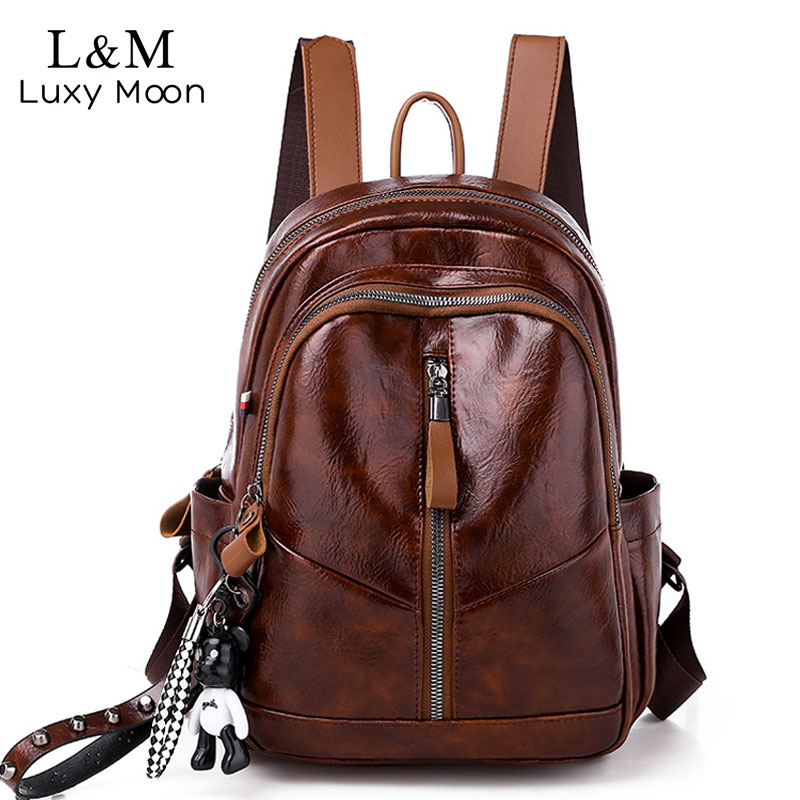 Women Leather Backpacks For Girls School Backpack Female Travel Shoulder Bags Bagpack Ladies Casual Daypacks Mochilas New XA292HWomen Leather Backpacks For Girls School Backpack Female Travel Shoulder Bags Bagpack Ladies Casual Daypacks Mochilas New XA292H