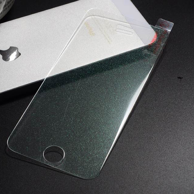 High Quality Colorful Front Screen Protector Shinning Diamond Glitter Sparkling Guard For Apple iPhone 7 7plus Phone Films