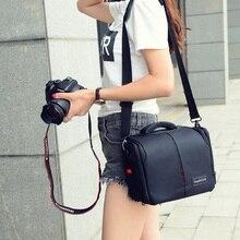 Водостойкая дорожная маленькая DSLR сумка для камеры с дождевик для Canon 200D 600D 650D 70D 750D 760D 100D 1200D