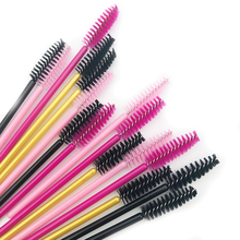 MIKIWI 100 Uds pinceles de pestañas pinceles de maquillaje aplicador desechable pestañas cepillo cosmético herramientas de maquillaje