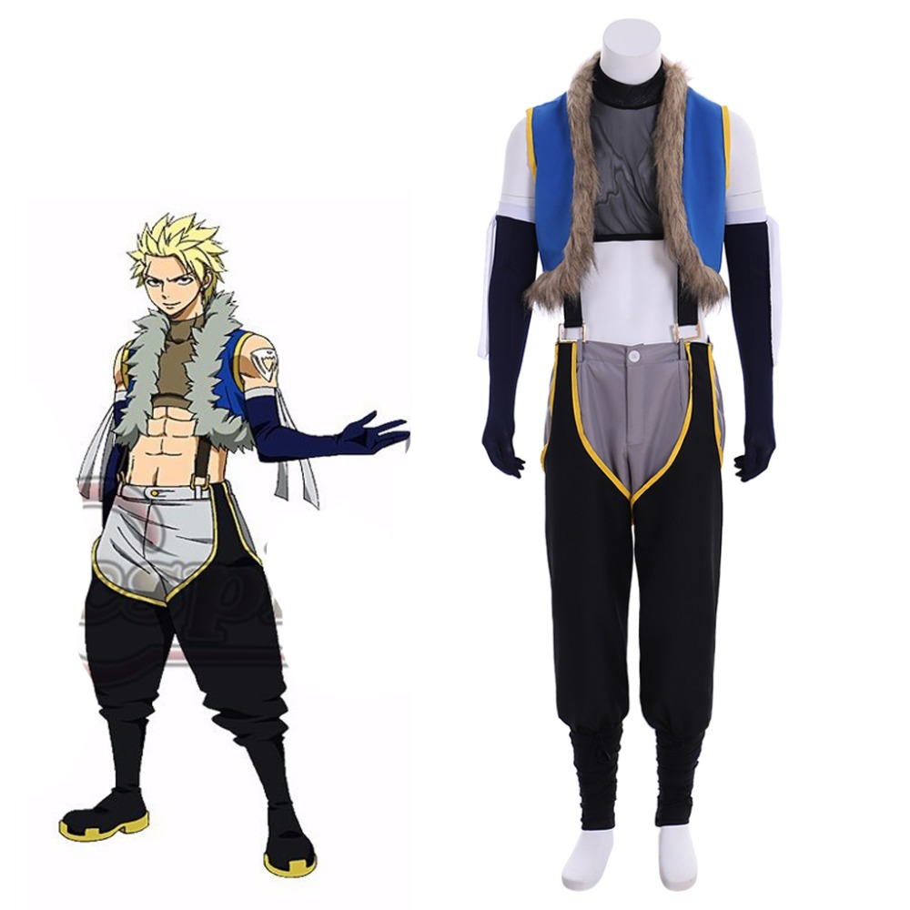 Custom Made Fairy Tail Sting Eucliffe Cosplay Costume For Halloween Costume Carnival Clothing L320