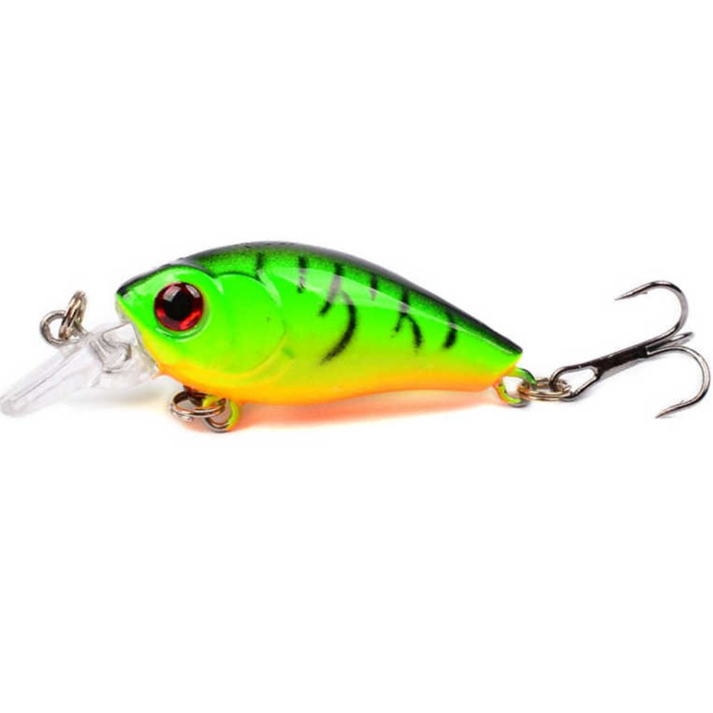 1pcs Mini Crankbait Topwater Fishing Lure 45mm 3.5g Artificial Japan Hard  Wobblers Bait  Artificial Trout Pike Carp Fishing