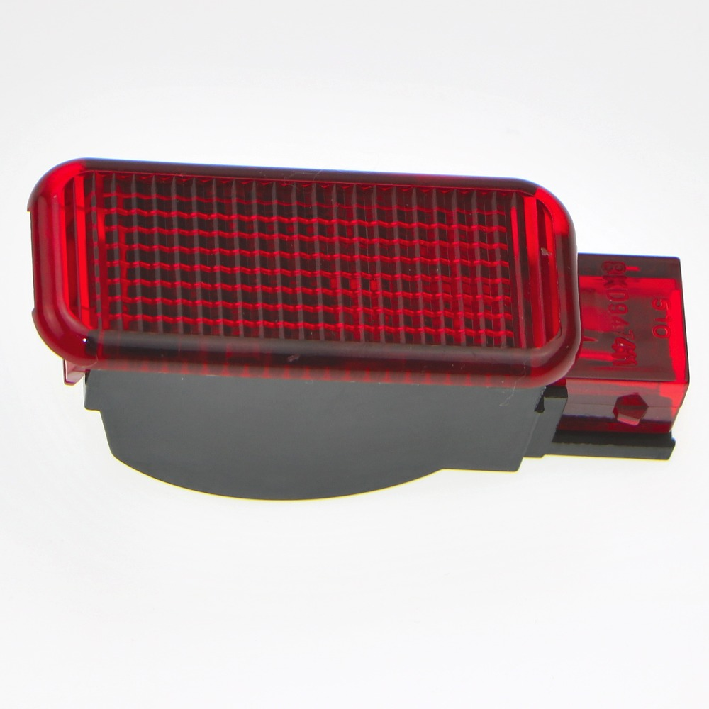1Pcs Car Door Panel Interior Red Warning Light For A7 A8 Q3 Q5 TT A3 S3 A6 S6 A4 S4 RS3  ...